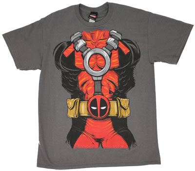 Dead Pool Costume - Marvel Comics T-shirt