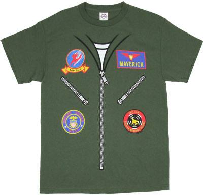 Maverick Flight Suit - Top Gun T-shirt
