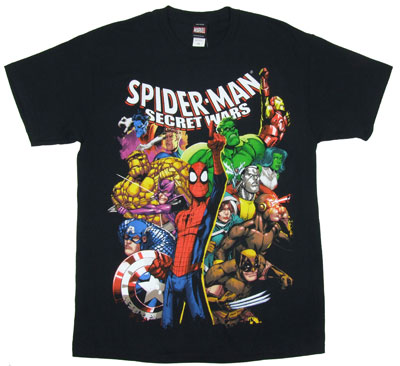 Spider-Man Secret Wars - Marvel Comics T-shirt