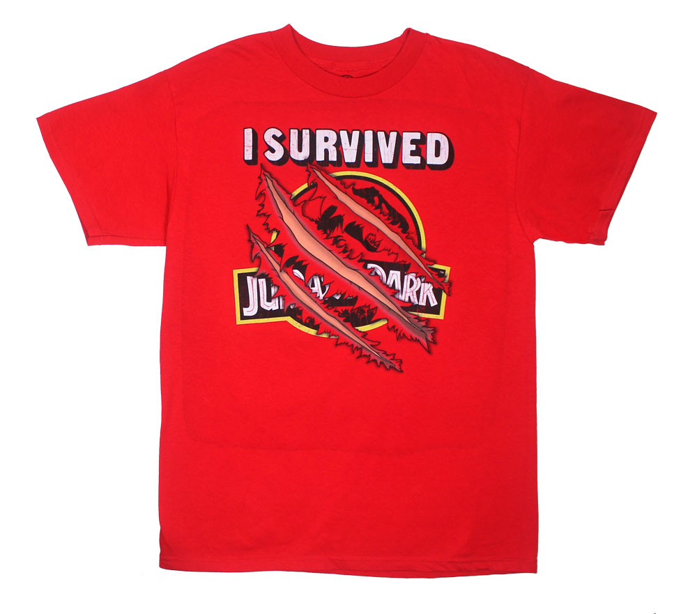 I Survived Jurassic Park - Jurassic Park T-shirt