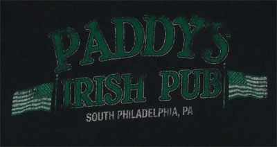 Paddys Irish Pub On Black - It's Always Sunny In Philadelphia Sheer Women's T-shirt