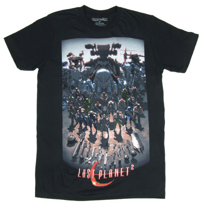 Lost Planet 2 T-shirt