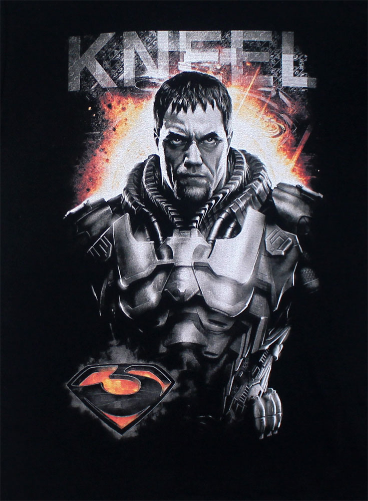 Kneel - Man Of Steel T-shirt