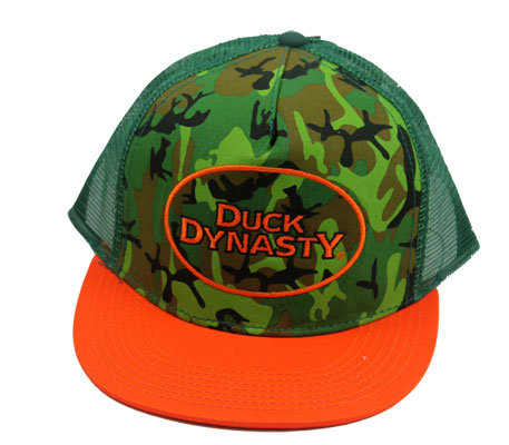 Orange And Green - Duck Dynasty Trucker Hat