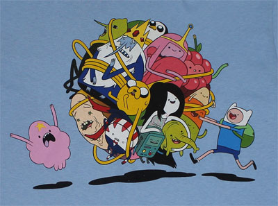 Group Roll - Adventure Time T-shirt