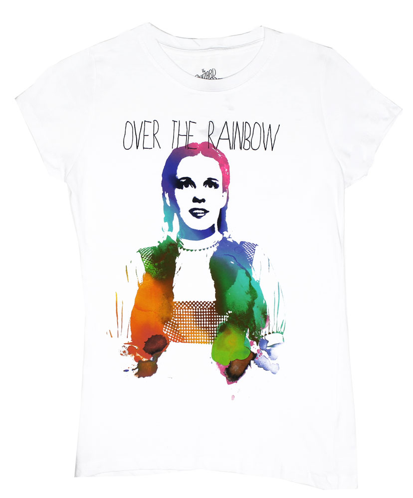 Rainbow Dorothy - Wizard Of Oz Juniors T-shirt