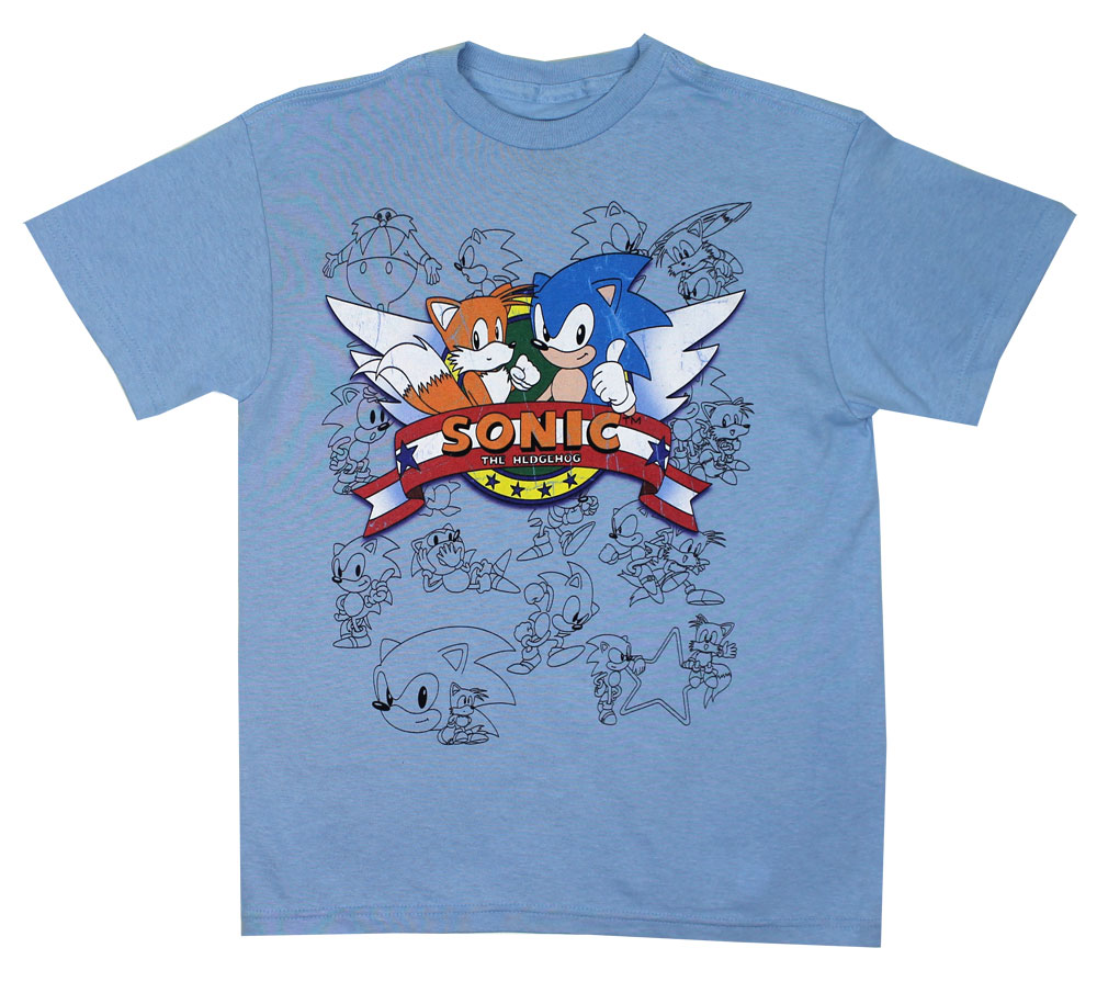Sonic Wings - Sonic The Hedgehog T-shirt