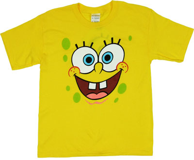 Spongebob Smiling - Spongebob Squarepants Boys T-shirt