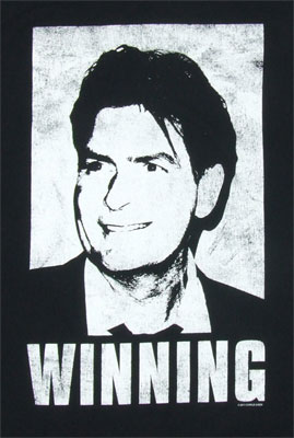 Winning - Charlie Sheen T-shirt