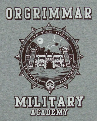 Orgrimmar Military Academy - World Of Warcraft T-shirt