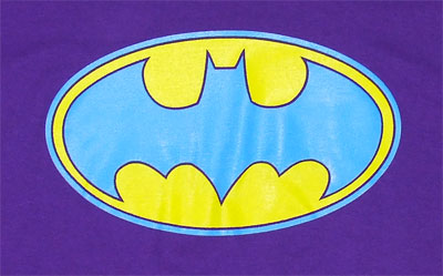 Bright Batman Logo - DC Comics T-shirt