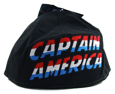 Captain America Face - Marvel Comics Baseball Cap