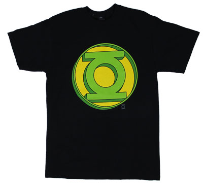 Extruded Green Lantern Logo - DC Comics T-shirt