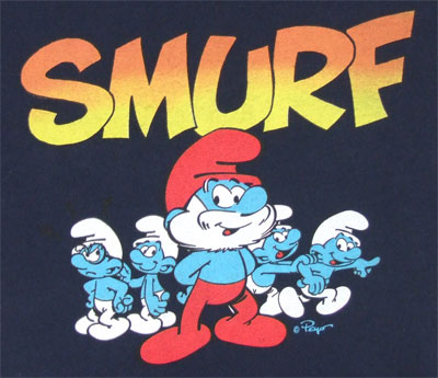The Smurfs - Smurfs Juvenile T-shirt