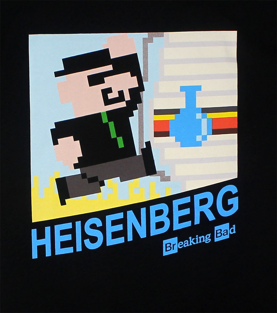 Eight Bit Heisenberg - Breaking Bad T-shirt