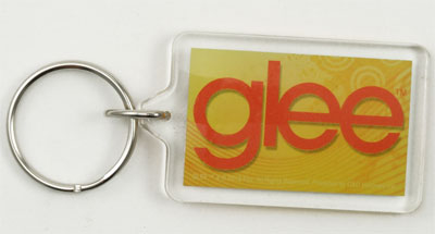 Music is My Life - Glee Keychain