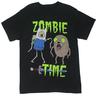 T shirts adventure time