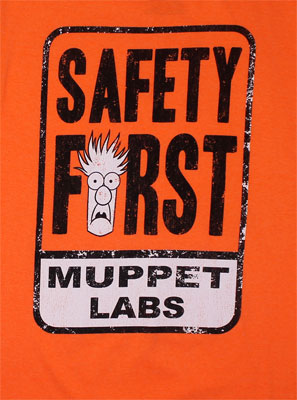 Safety First - Muppets Sheer T-shirt