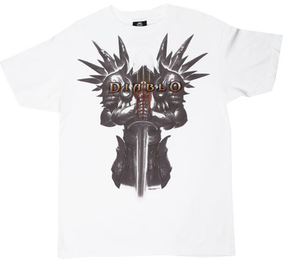 Tyrael Standing - Diablo III T-shirt