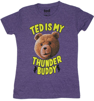 Ted Is My Thunder Buddy - Ted Sheer Women&#039;s T-shirt