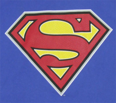 Superman Logo (Mesh) - DC Comics T-shirt