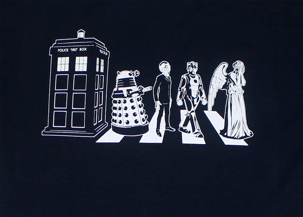Who Road - Dr. Who T-shirt