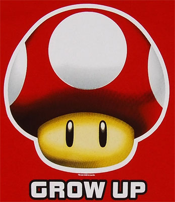Grow Up - Nintendo T-shirt