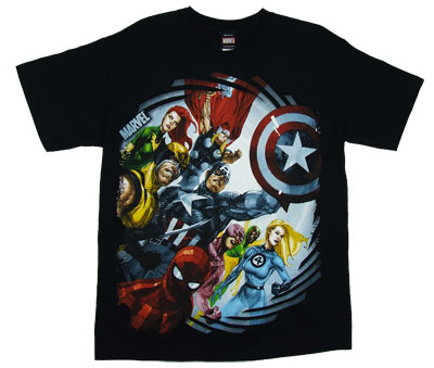 Spiral Bound - Marvel Comics T-shirt