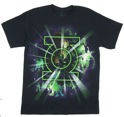 Logo Burst - The Green Lantern T-shirt