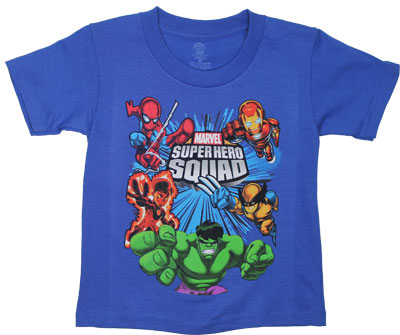 Marvel Superhero Squad Toddler T-shirt
