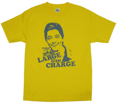 Large & In Charge - Charles In Charge T-shirt