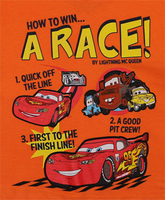 How To Win... A Race! - Cars Toddler T-shirt