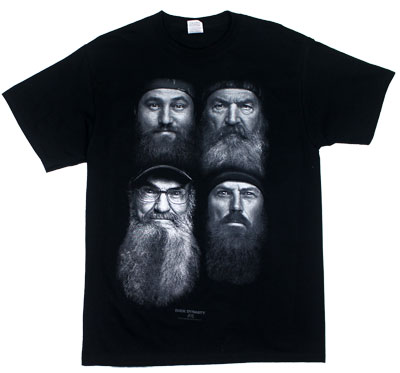 Fear The Beard - Duck Dynasty T-shirt