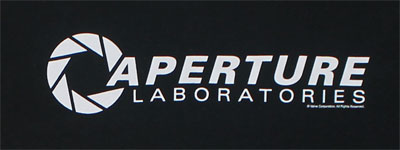 Aperture Laboratories - Portal 2 T-shirt