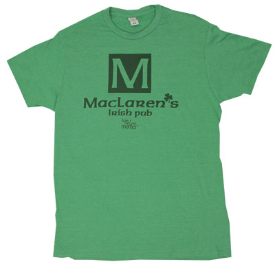 MacLaren&#039;s Irish Pub - How I Met Your Mother Sheer T-shirt