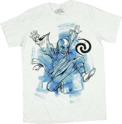 Aang - The Last Airbender Sheer T-shirt