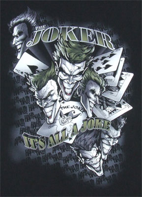It's All A Joke - DC Comics T-shirt