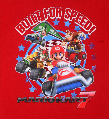 Built For Speed! - Mario Kart Youth T-shirt