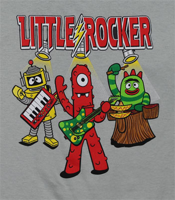 Little Rocker - Yo Gabba Gabba Toddler T-shirt