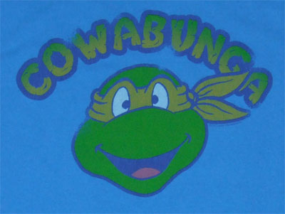 Cowabunga - Teenage Mutant Ninja Turtles T-shirt