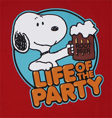 Life Of The Party - Peanuts T-shirt