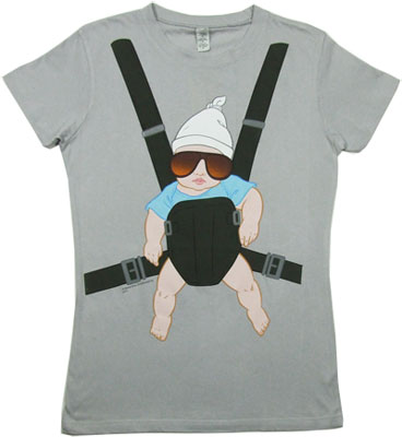 Baby Carrier - The Hangover Sheer Women's T-shirt