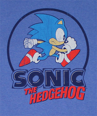 Vintage Run - Sonic The Hedgehog T-shirt