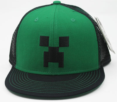 Creeper Face - Minecraft Trucker Hat