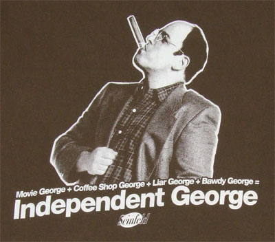 Independent George - Seinfeld T-shirt