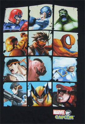 Battle Blocks - Marvel Vs. Capcom Sheer T-shirt