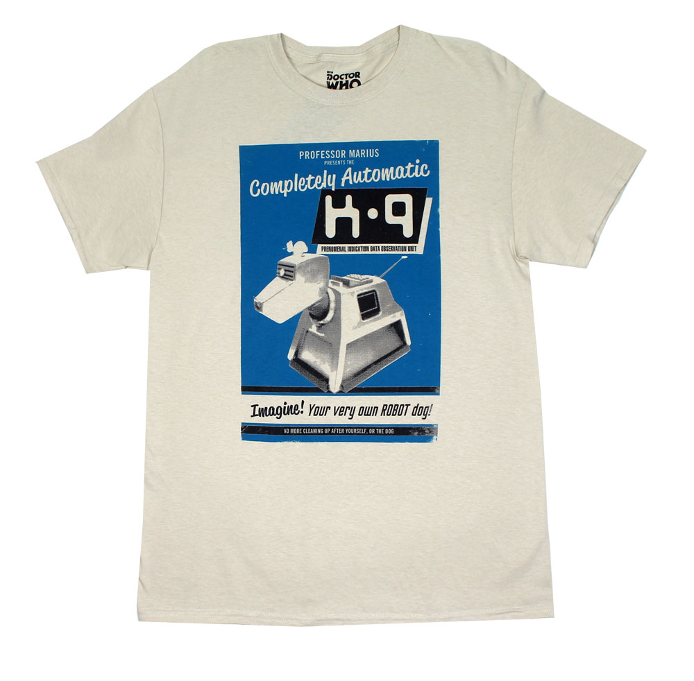 K-9 - Dr. Who T-shirt