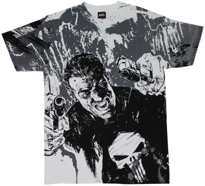 Double Fisted - Punisher - Marvel Comics T-shirt