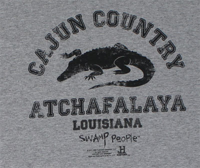 Cajun Country - Swamp People T-shirt