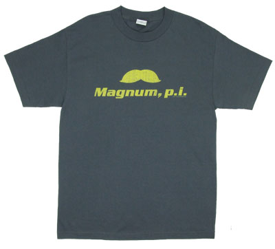 The Stache - Magnum P.I. T-shirt